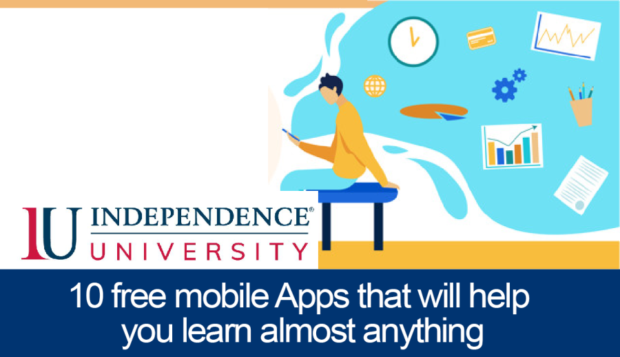 10 free mobile Apps that will help you learn almost anything