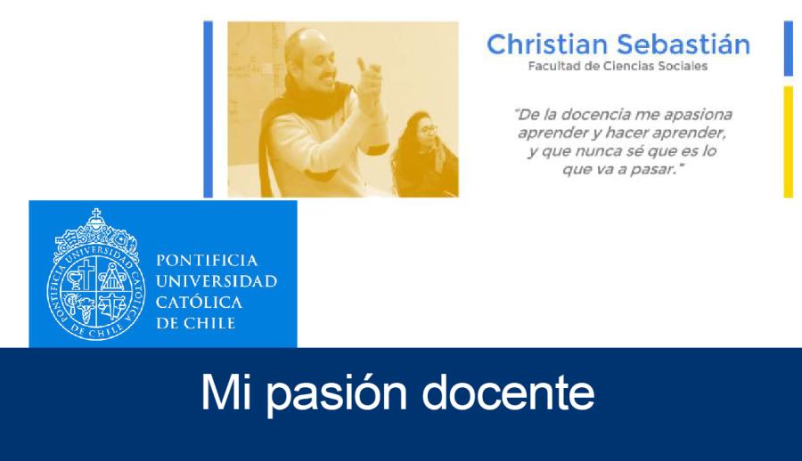 Mi Pasión Docente: Christian Sebastián _ Centro de Desarrollo Docente