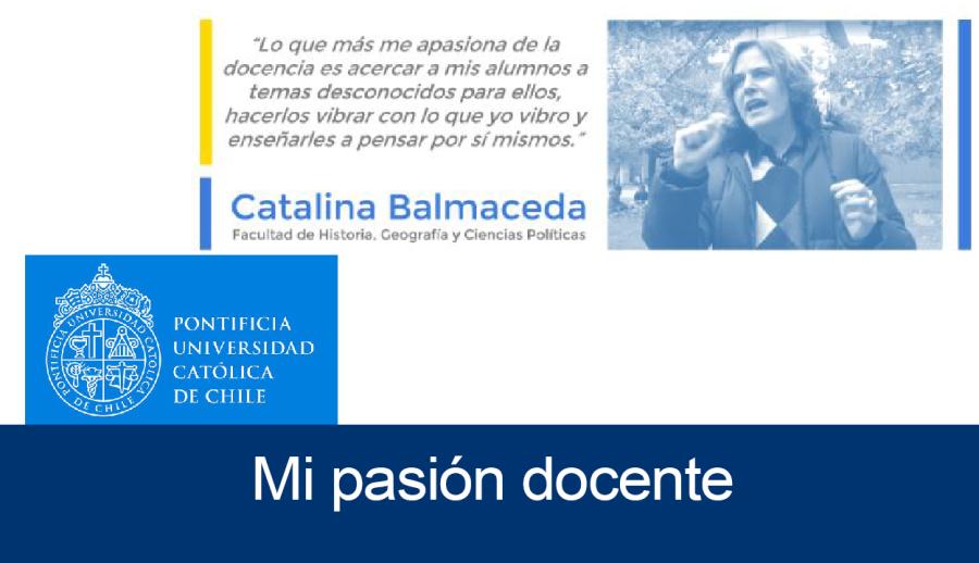 Mi Pasión Docente: Catalina Balmaceda_Centro de Desarrollo Docente